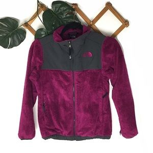 The North Face Jackets & Coats - North Face Fleece Jacket Girls Purple 10/12